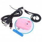 Ultra Mini Multi-Function 300 KP Digital Camera for Children - Pink (1*AAA/128MB)