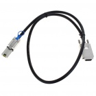 SAS SFF8470 Infiniband 34-Pin to Mini SFF 8088 26-Pin Data Cable (1M-Length)