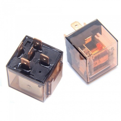 ZIQIAO 80A/12V 5-Pin Car Auto Power Relay Switch SPDT for Car