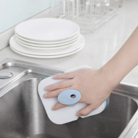 Removable Double-Sided Sponge, Cleaning Brush