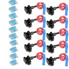 10PCS Car Auto Circuit Fuse Tap Adapters Blade Fuses Holder for Easy & Safe Use Micro Mini Type Fuse