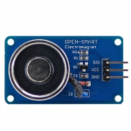 OPEN-SMART Holding Electric Magnet Lifting DC5V / 10N Solenoid Sucker Electromagnet Module for Arduino