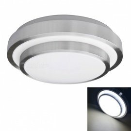 YouOKLight 11.4'' Flush Mount LED Ceiling Light, 18W(120W equivalent), 6000K Cold White for Kitchen Bathroom Dining Room
