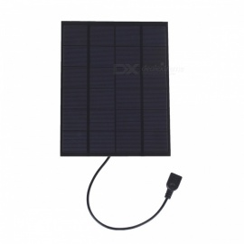 JEDX 5W 5V Single Crystal Silicon Solar Cell Phone Charging Plate with USB Voltage Stabilizer SW5005UReg