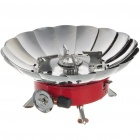 Compact Portable Windproof Camping Gas Stove (2*AG3)