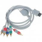 Component Video and Audio Cable for Wii (1.8M Length)
