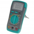 LCD Handheld Digital Multimeter - Current/Voltage/Resistance/Diode/Transistor hFE Test (1*6F22 9V)