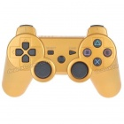 Designer's DualShock 3 Bluetooth Wireless SIXAXIS Controller for PS3 - Golden