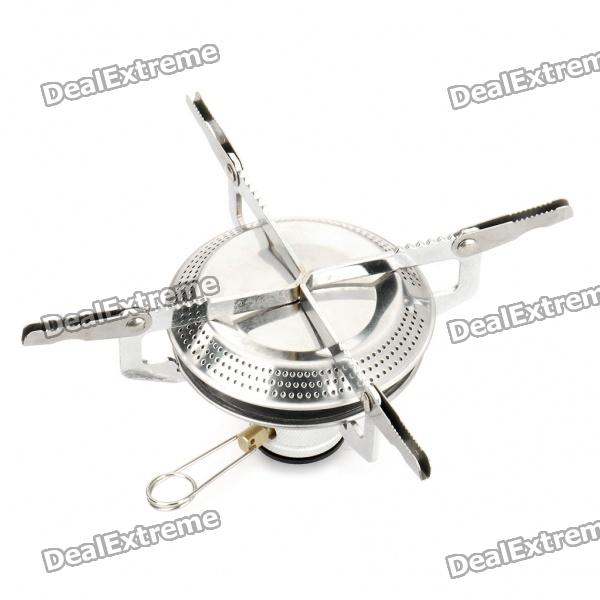 Outdoor Camping Mini Portable Metal Butane Gas Stove