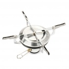 Outdoor Camping Mini Portable Metal Butane Gas Stove (2*AG3)