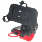 Plastic Bicycle Bike Swivel Mount Holder for Iphone 3g - Black (360 Degree)