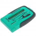 15-in-1 Precision Screwdrivers Set - Green + Black + Silver