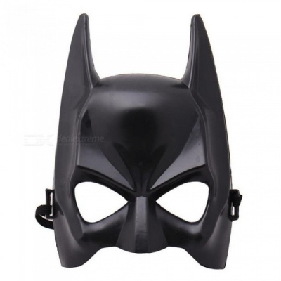 1Pcs Halloween Half Face Batman Mask Black Masquerade Dressing Party Masks Cosplay Mask Costume Supplies black