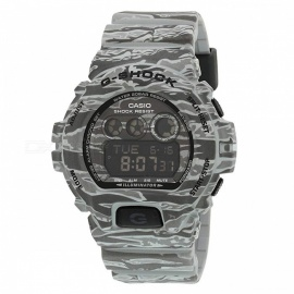 Casio G-Shock GD-X6900CM-8 Tiger Camouflage Series Camo Watch - Grey