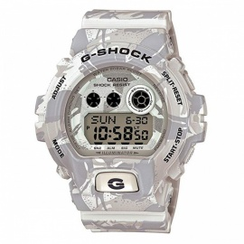 Casio G-Shock GD-X6900MC-7 Camouflage Series Wrist Watch - White