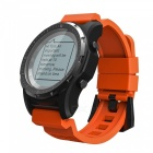 S966 GPS Smart Watch, Waterproof Smartwatch w/ GPS Track, Altitude Compass, Barometer Function - Orange