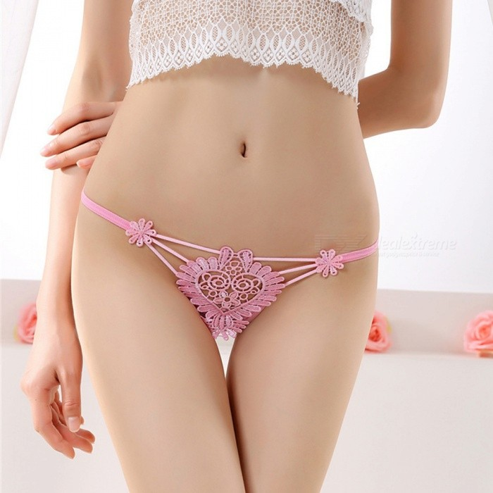 ZHAOYAO Women Sexy Panties Lingerie Low Wasit Lace Thong ...
