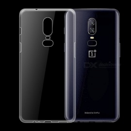 Dayspirit Ultra-Thin Protective TPU Back Case for OnePlus 6 ,1+6 - Transparent