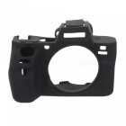 New Soft Silicone Camera Case for Sony A7 II - Black