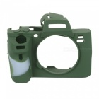 New Soft Silicone Camera Case for Sony A7 II - Army Green