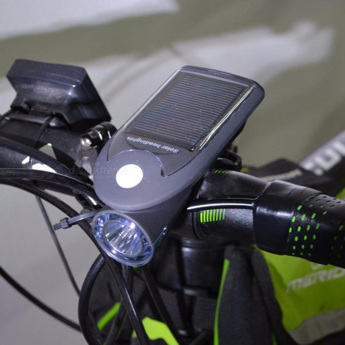... Solar Bike Lights LED Bicycle Front Head Light USB 2.0 Rechargeable Headlight Portable Outdoor Night Cycling ...