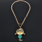 2-in-1 Cute Girl Figure Pendant Necklace + Cell Phone Strap