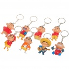 Buy Set of 8 Cute Crayon Shin-Chan Figure Toys Keychain