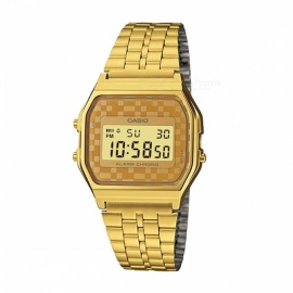 Casio A159WGEA-9A Retro Vintage Digital Watch - Gold (Without Box)