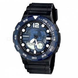 Casio AEQ-100W-2A Standard Analog Digital Watch - Blue (Without Box)