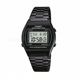Casio B640WB-1A Vintage Series Illuminator Digital Watch - Black (Without Box)