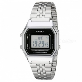 Casio LA680WA-1 Steel Band Digital Watch - Silver (Without Box)