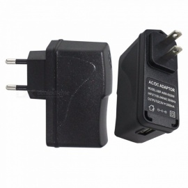 10W Mobile Phone Charger 5V 2A Charging Adapter Phone Charger USB Charger US EU Plug Power Adapter Wall Charger Black/US