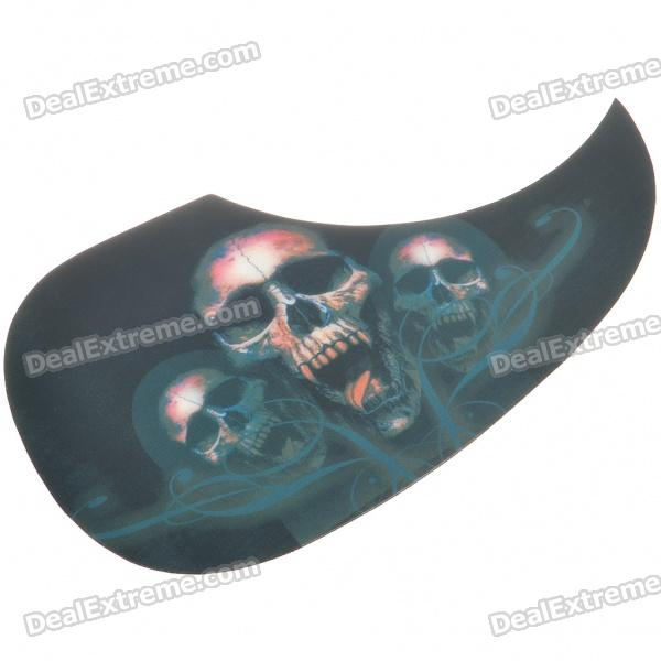 Cool Guitar Guard Skull Style Decal Sticker