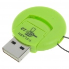 Ultra Mini USB 2.0 Micro SD/TF Card Reader (Support 1~16GB)