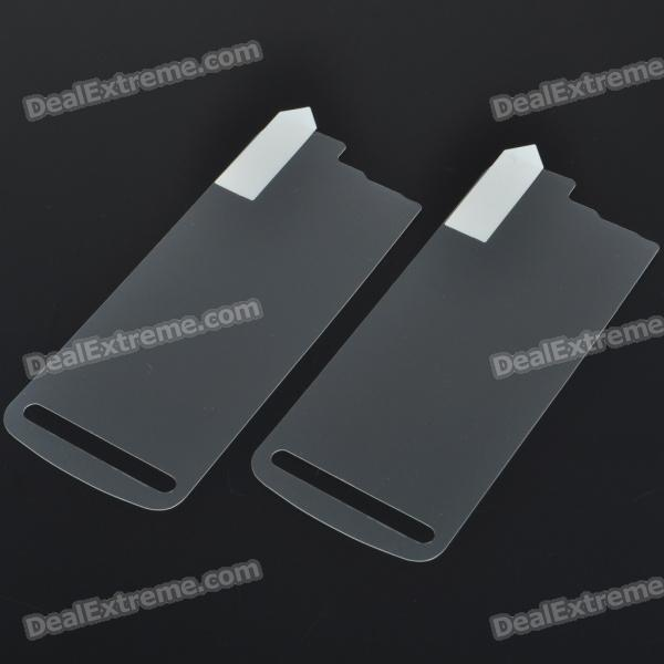 Matte Frosted Screen Protector Guards Set for Nokia 5800 (Set of 4)