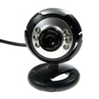 Mini Eye USB Webcam with 6-LED Illumination (1.3MPixel)