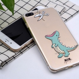 iPhone 6 Case 5 5s 5c 6s 7 Plus X Cute Dinosaur Soft TPU for Cover iPhone 7 Case Original for Coque iPhone 8 Case for iPhone 7 8/11