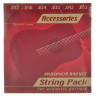Fender Bronze Strings Set (6-String Set)