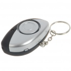 Anti-theft Anti-Lost Alarm Device Security Keychain with LED White Light (2*CR2032)