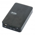 "1080P Full HD 2.5"" SATA HDD Media Player with HDMI/USB Host/Optical/AV/Power/SD/MMC Slot"
