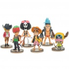 Cute One Piece Resin Figures Set (6-Figure Set)