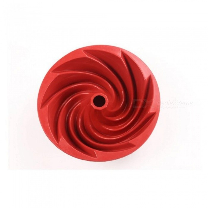 9 76 Inch Large Spiral Shape Silicone Bundt Cake Pan Bread