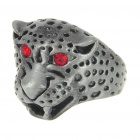 Leopard Head Shaped Alloy Ring