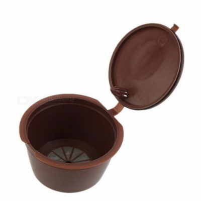 Reusable Coffee Capsule Plastic Refillable Compatible Coffee Filter Baskets Soft Capsules Taste Sweet Chocolate