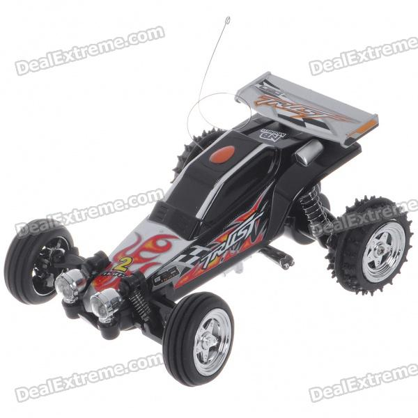 1:24 Ratio Mini Rechargeable R/C Model Racing Car (27MHz/4*AA/Color Assorted)