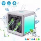 Portable Mini Air Conditioner Fan Personal Space Cooler The Quick Easy Way To Cool Any Space Home Office Desk White