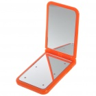Pocket Make-up Mirror with 6-LED Lighting - Color Assorted (2*CR2025)
