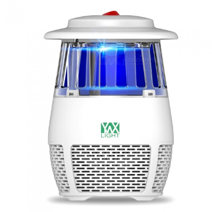YWXLight USB Non-toxic LED Insect Fly Killer, Electronic Mosquito Trap Lamp - White