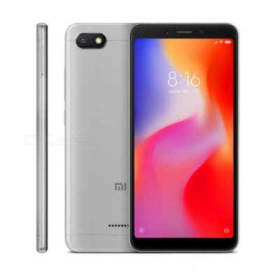 Xiaomi Redmi 6A Android Phone with 2GB RAM, 16GB ROM - Gray