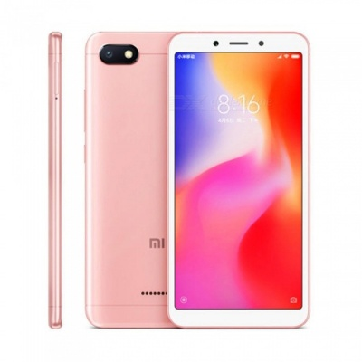 xiaomi Redmi 6A Android Phone with 2GB RAM, 16GB ROM - Pink